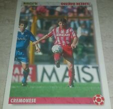 CARD JOKER 1994 CREMONESE DEZOTTI CALCIO FOOTBALL SOCCER ALBUM