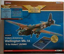 Corgi Aviation Vickers Armstrong Wellington AA34810 Certificate No 150 of 150