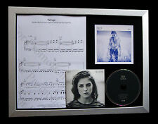 BIRDY Wings CD GALLERY QUALITY MUSIC FRAMED DISPLAY+FAST GLOBAL SHIP+FIRE WITHIN