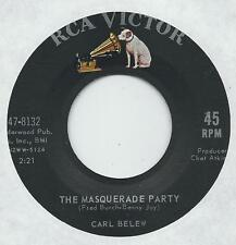 "TEEN-COUNTRY-CROSSOVER - CARL BELEW - ""THE MASQUERADE PARTY""  RCA  SOLID VG+]"