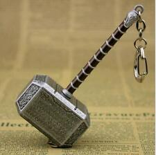 Marvel The Avengers Thor hammer Metal Keychain Key Chain Keyring10cm XG