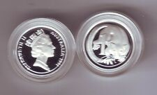 1991 SILVER Proof 1 Cent Feather-Tailed Glider ex Masterpieces in Set *