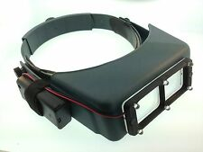 "Donegan OptiVISOR DA3 1 3/4 X Power at 14"" with Quasar LED Lighting System"