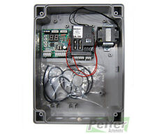 Proteco Q60A 230 Vac control board for swing-leaf gates with 1 or 2 leafs