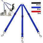 3 Way Adjustable Nylon Dog Leash Lead Triple Coupler Dog Walking Leads for 3 Dog