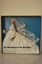 BARBIE GRACE KELLY THE BRIDE DOLL, GRACE KELLY SILKSTONE DOLLS COLLECTION, T7942