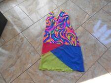 Eb355 scoupe verano Strad vigas vestido vestido m multicolor muy bien