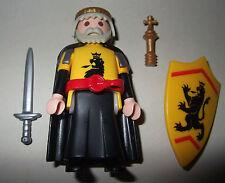 16402, Löwenritter, König, mit Umhang, Zepter, Schwert und Schild