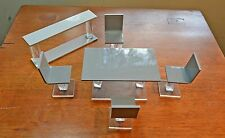 1:12  Mid Century Modern Table ~ 4 Chairs & Side Table ~ Doll House