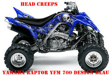 Invision décor Kit ATV yamaha raptor yfm 125/250/350/660/700 Head Creep B