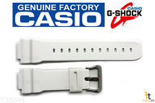 CASIO G-Shock GW-6900A-7 16mm Original White Rubber Watch BAND GW-M5600A-7