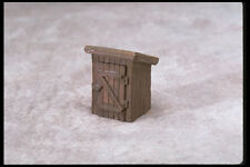 SMC-206 Small Wood Shed  Highly Detailed  HO, HOn30 Scale   (unfinished)