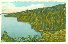 Boothbay Harbor,ME. The Three Points, Spruce Point 1935