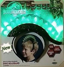 Official Jurassic World Light Up Dino Headband