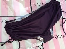 NWT Victoria's Secret 2016 Sexy Skirted Bikini Bottom Wild Eggplant  XL