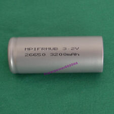 3.2V LiFePO4 IFR26650 high temperature energy type 3200mAh flat cap battery