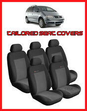 Tailored Fundas De Asiento Para Seat Alhambra, Vw Sharan Set Completo - 5 asientos grey2