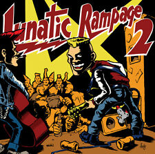 Lunatic Rampage Volume 2 CD psychobilly - Messer Chups, Squidbillys, Beat Devils