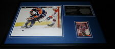 Paul Coffey Signed Framed 12x18 Photo Display Oilers