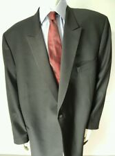 Jack Victor Rochester Big & Tall Black Formal Tuxedo Jacket 54 PL  EUC