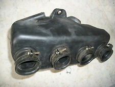 1975 Honda CB550F Four CB500 Complete Air Box Chamber With Rubber Boots, Clamps