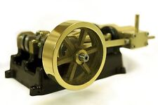 Live Steam-Twin Cylindre Mill Model Steam Engine Kit, en laiton, bronze & Steel