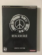 Metal Gear Solid: Peace Walker Limited Edition (PSP, 2010 / Konami)
