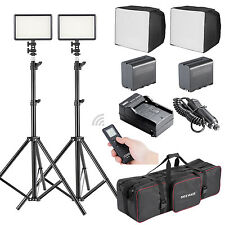 Bestlight 2 x LED308C High Power Dimmable Built-in LCD Panel Video Light Kit
