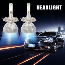 2X 60W 6000LM H4 Car LED Light Headlight Vehicle Hi/Lo Beam Bulb Kit 6000K White