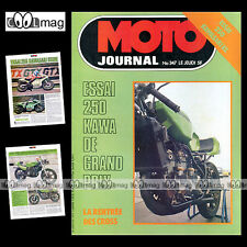 MOTO JOURNAL N°347 KAWASAKI 250 KL & 250 TWIN GRAND PRIX HONDA CB 550 FOUR 1978