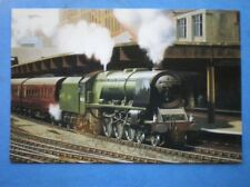 POSTCARD LMS CLASS 8P LOCO NO 46235 CITY OF BIRMINGHAM