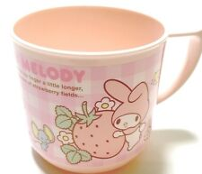 SANRIO My Melody KAWAII BENTO Cup with a Handle plastic 240ml F/S AIRMAIL JAPAN
