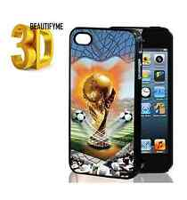 3D 2014 World Cup Jules Rimet Cup Hard Phone Case Cover for Apple iphone5 5S