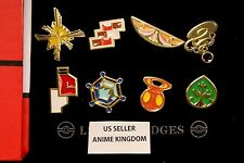 USA Seller Cosplay POKEMON Gym Badges in box Kalos League Set 8  Badge Pins