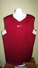 XL Nike Basketball Fit Dry Sleeveless Athletic Shooting Shirt Work Out Gym Wear