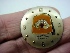 Shrine Ernest Borel Vintage 25.41mm Mens Watch Dial Pearl Automatic Gold Markers