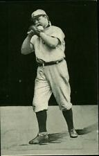 1907 Baseball Player Postcard Detroit Tigers George Mullin A C Dietsche