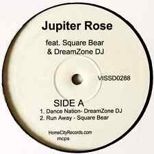 "DREAMZONE DJ/SQUARE BEAR - Jupiter Rose EP (12"") (VG-/NM)"