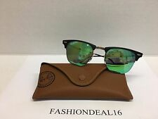 RayBan Clubmaster LightRay 51mm Brown/Black/Green RB8056 176/R3 Sunglasses