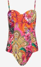 Ted Baker Paisley Toucan Swimsuit 32 AB BNWTS £69