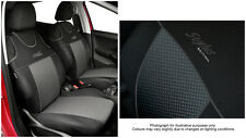 2 X CAR SEAT COVERS for front seats fit Volkswagen Polo - VEST SHAPE (3)