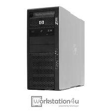HP Z800 PC Workstation 2x Xeon X5650 24GB RAM SSD 128GB 3TB SAS HD Quadro 600 W7