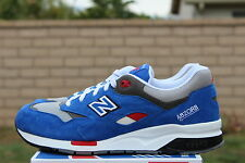 NEW BALANCE 1600 SZ 12 BLUE GREY WHITE BARBER SHOP PACK ELITE EDITION CM1600BB