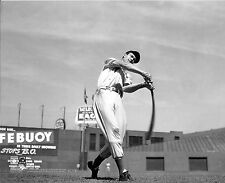 AWESOME A YOUNG TED WILLIAMS RED SOX LEGEND AT BAT photo 7 x 10