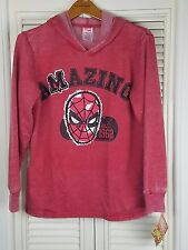 Kids The Amazing Spider Man Hoodie Hooded Sweatshirt Marvel Comic XXL 18