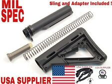 CTR Style Buttstock And Tube Kit, With Single Point Sling And Adapter!