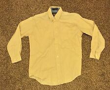 Chaps Ralph Lauren Long Sleeve Button Shirt Men's Size 15 32-33