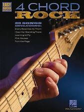 4 Chord Rock : Easy Guitar with Notes and Tab by Hal Leonard Corp. Staff...