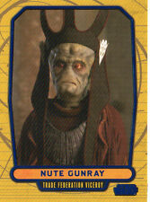 2012 STAR WARS GALACTIC FILES NUTE GUNRAY CARD NUMBERED /350