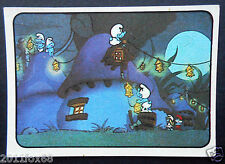 figurines cromos los pitufos cards figurine i puffi 63 panini 1982 the smurfs cd